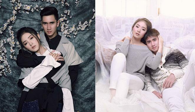 Foto Couple Ala Drama Korea Hingga Twilight Venna Melinda Natasha Wilona Dan Verrell Bramasta Pacaran Berita Selebritis